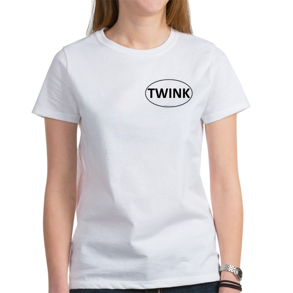 TWINK Euro Oval Women's T-Shirt
