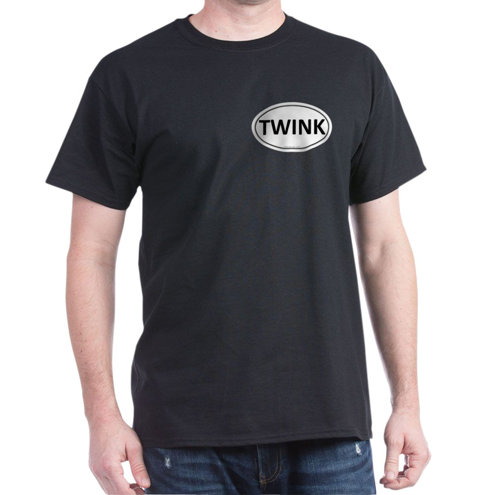 TWINK Euro Oval Dark T-Shirt