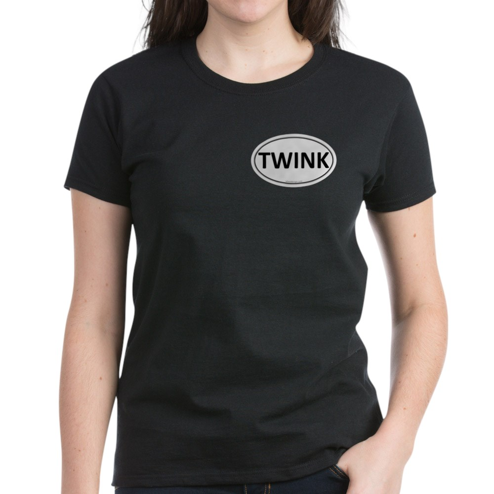 TWINK Euro Oval Women's Dark T-Shirt