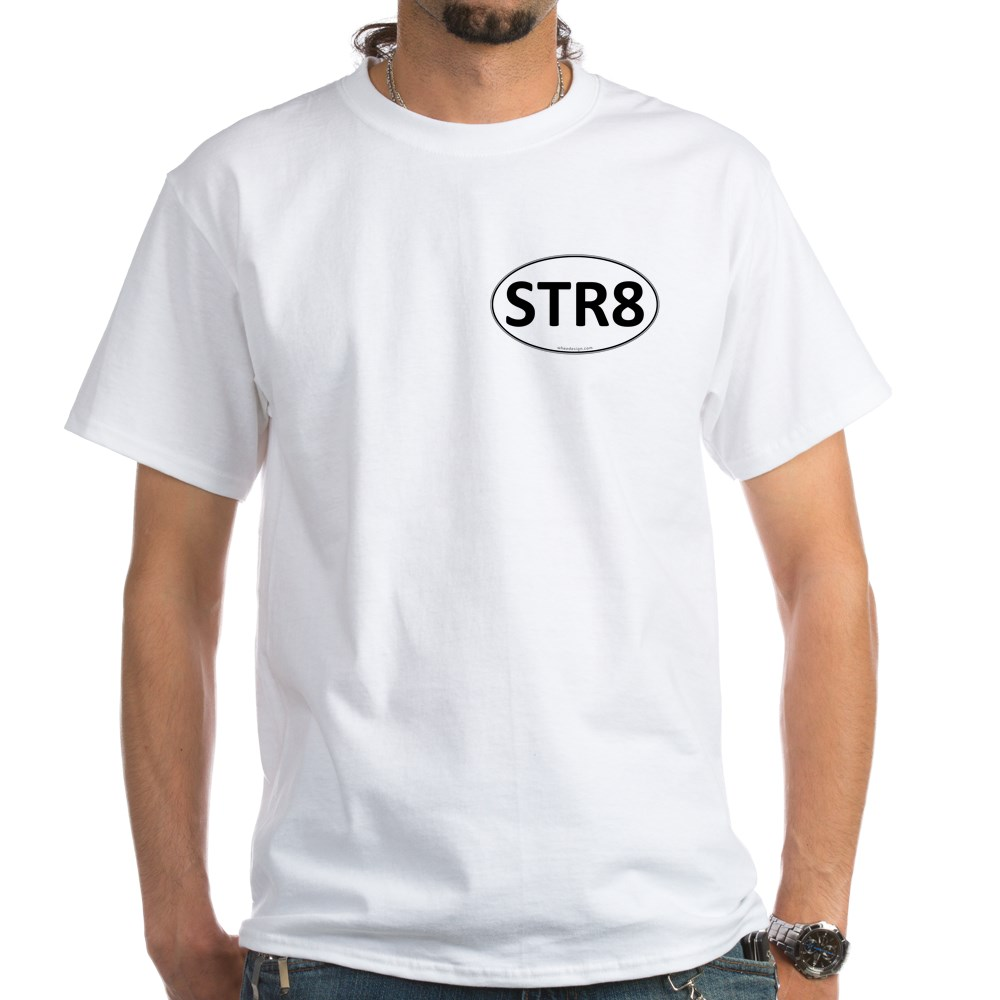 STR8 Euro Oval White T-Shirt