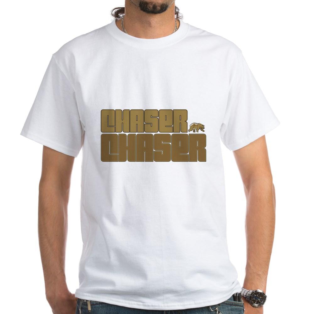Chaser Chaser Gay Bear White T-Shirt