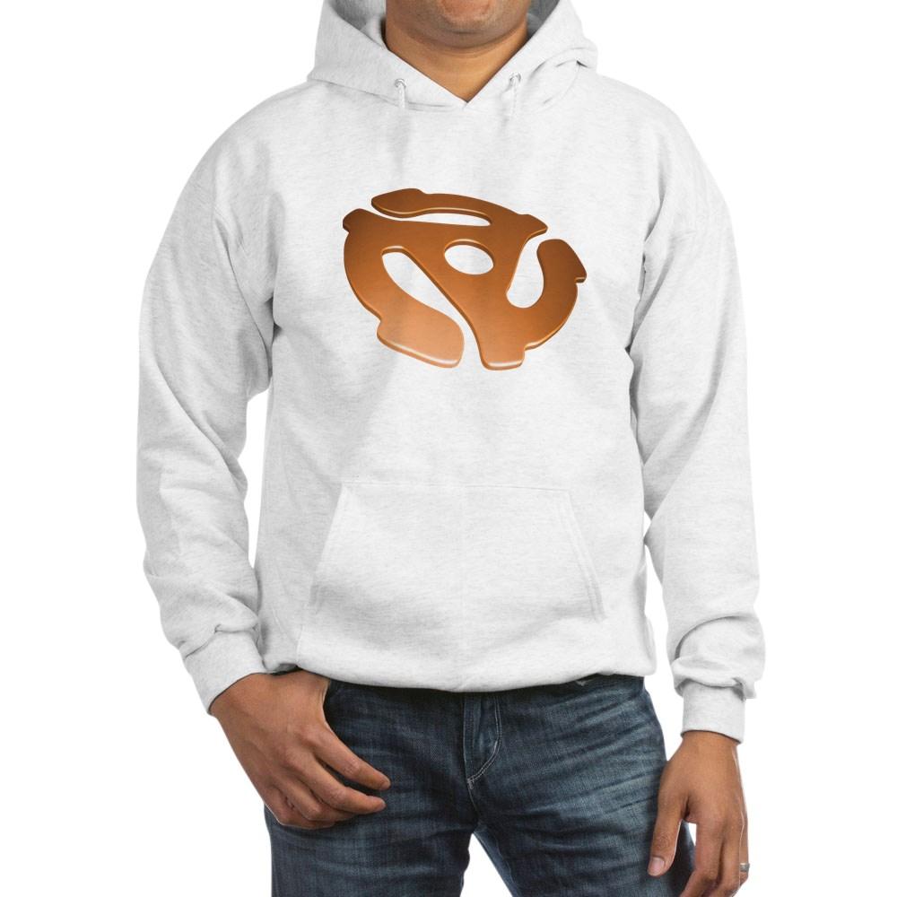 Orange 3D 45 RPM Adapter Hooded Sweatshirt