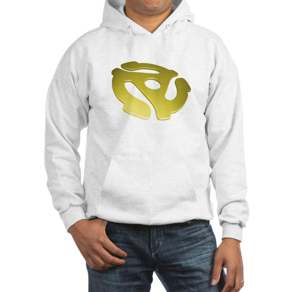 Gold 3D 45 RPM Adapter Hooded Sweatshirt