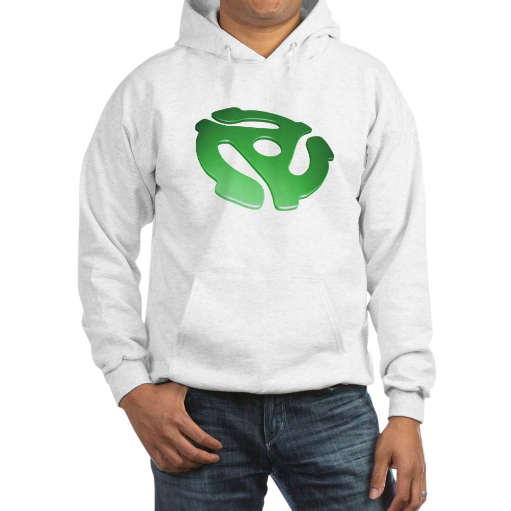 Green 3D 45 RPM Adapter Hooded Sweatshirt