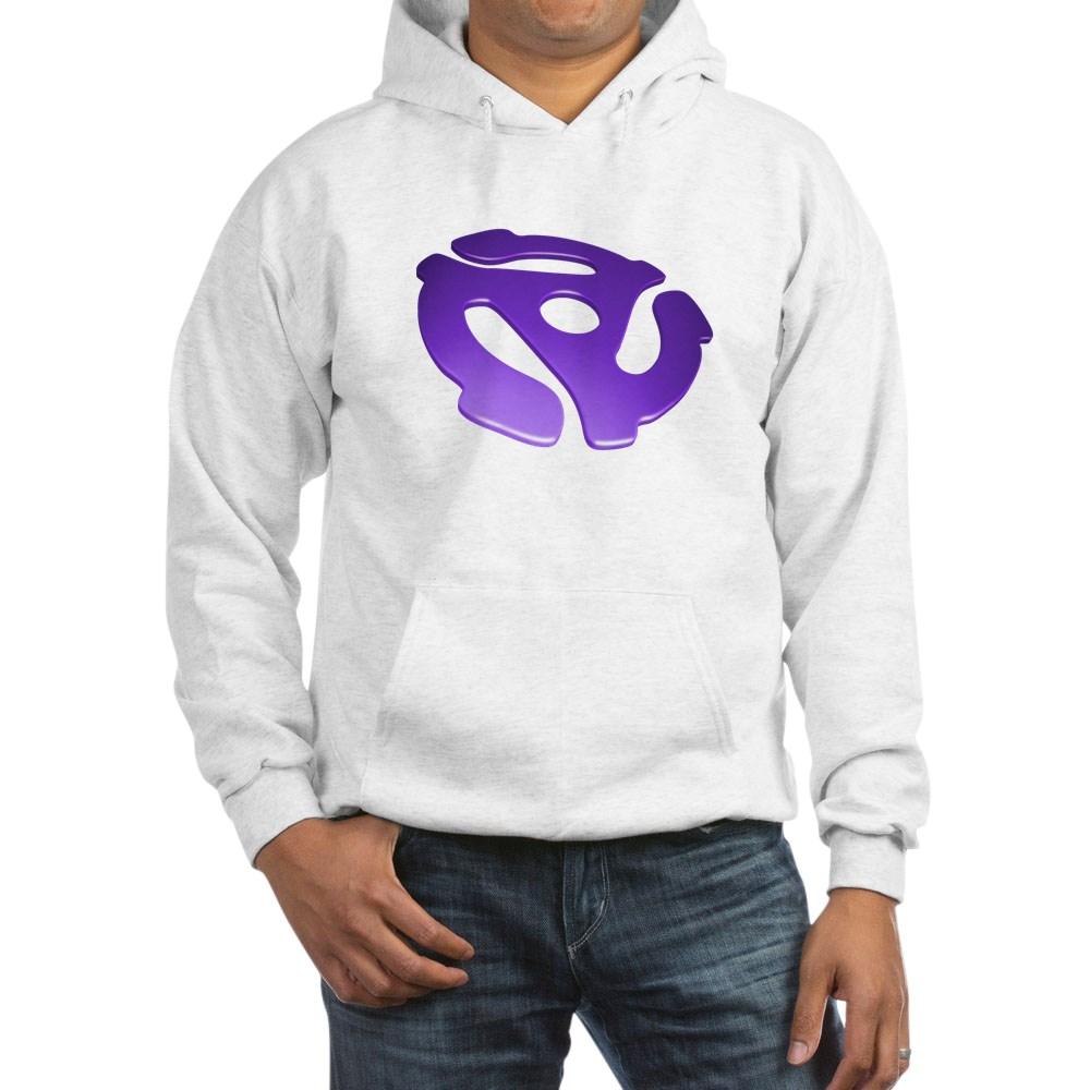 Purple 3D 45 RPM Adapter Hooded Sweatshirt