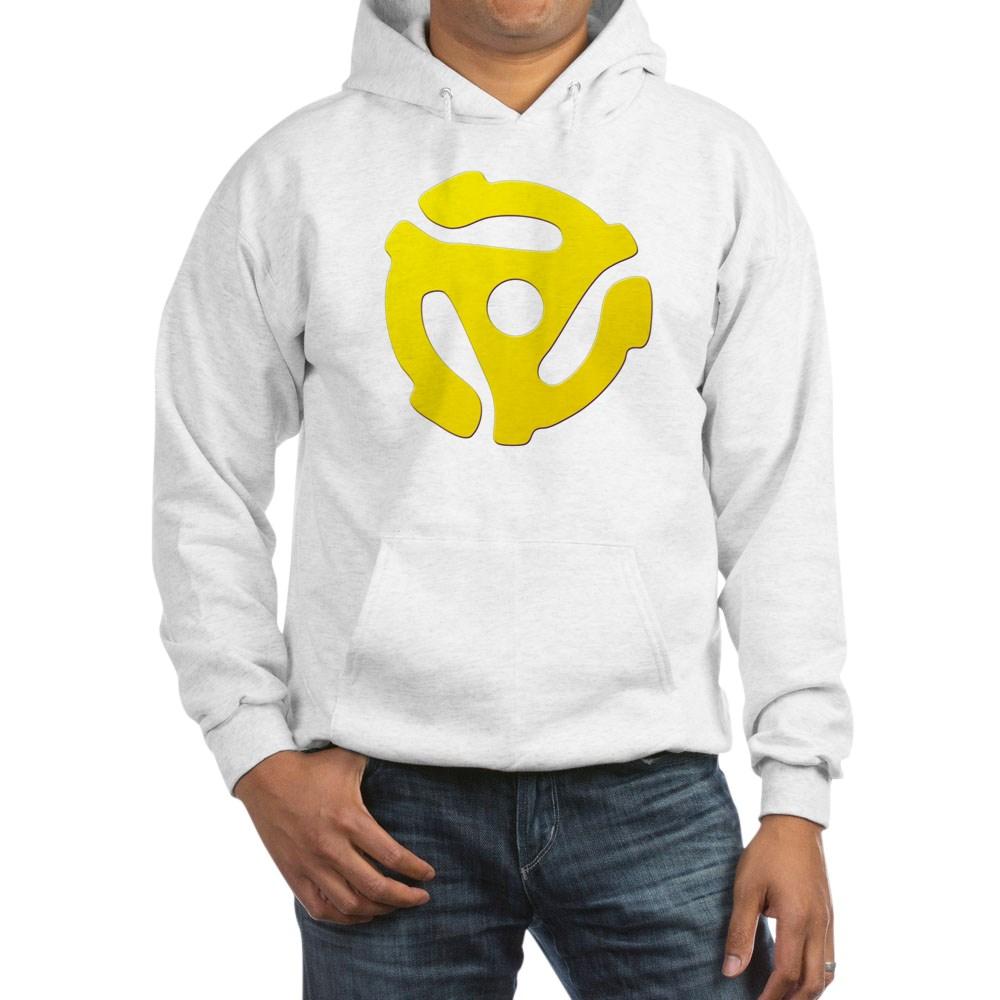 Yellow 45 RPM Adapter Hooded Sweatshirt