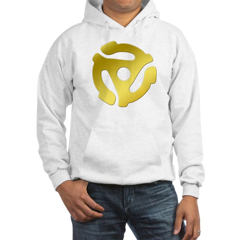 Gold 45 RPM Adapter Hooded Sweatshirt