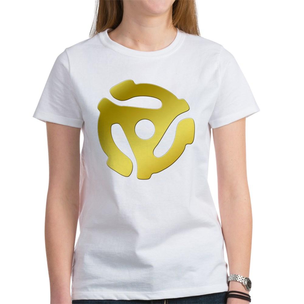 Gold 45 RPM Adapter Women's T-Shirt