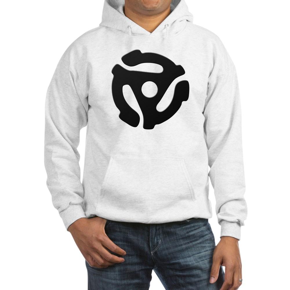 Black 45 RPM Adapter Hooded Sweatshirt