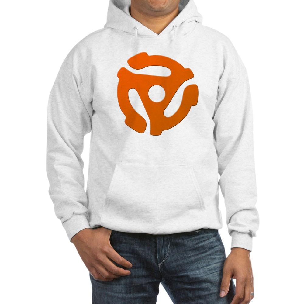 Orange 45 RPM Adapter Hooded Sweatshirt