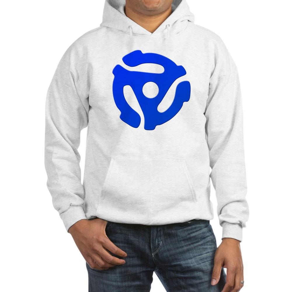 Blue 45 RPM Adapter Hooded Sweatshirt