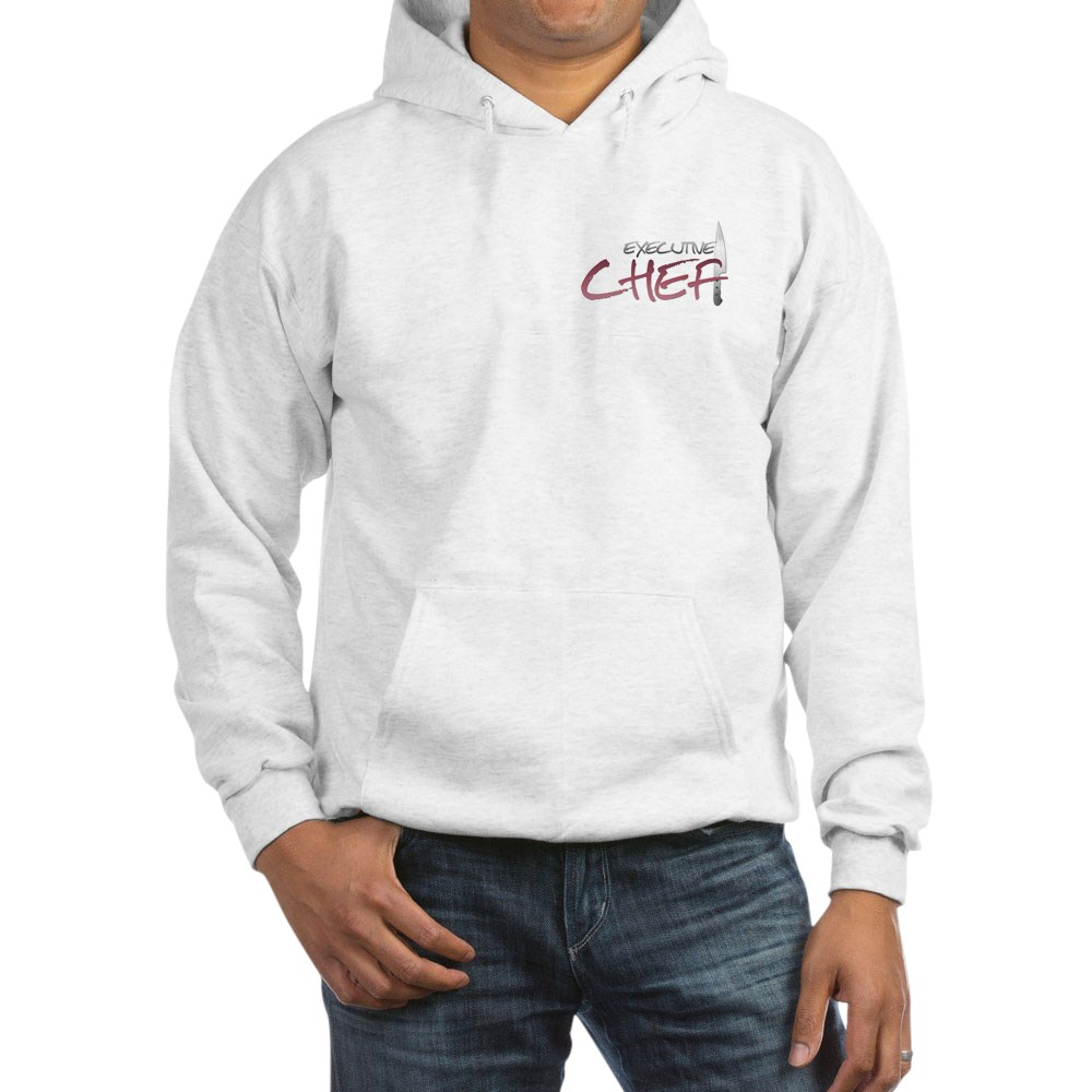 Red Executive Chef Hooded Sweatshirt