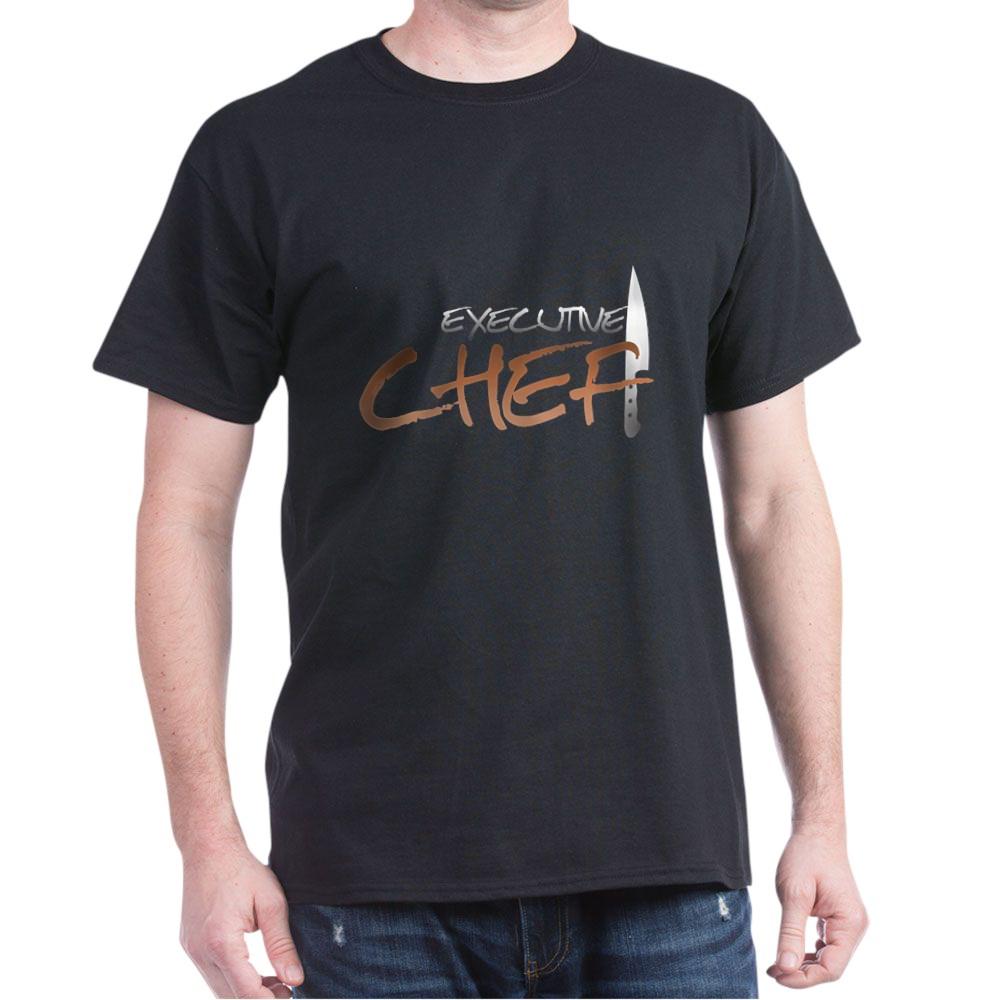 Orange Executive Chef Dark T-Shirt