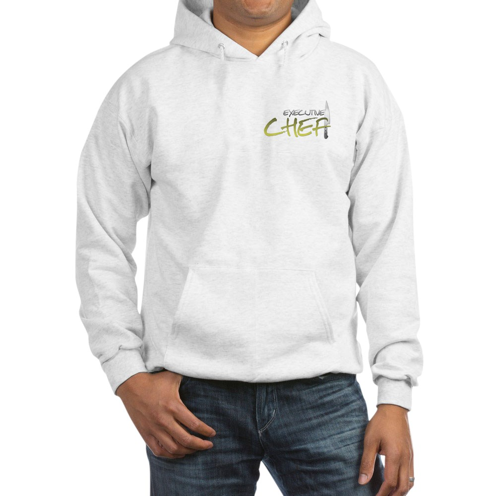 Yellow Executive Chef Hooded Sweatshirt