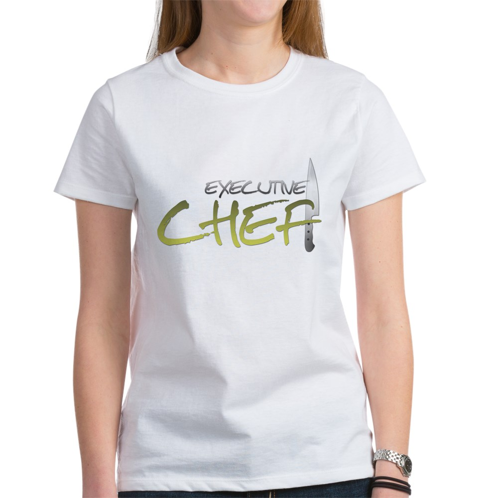 Yellow Executive Chef Women's T-Shirt