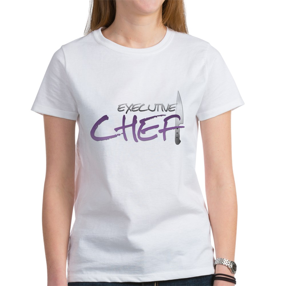 Purple Executive Chef Women's T-Shirt