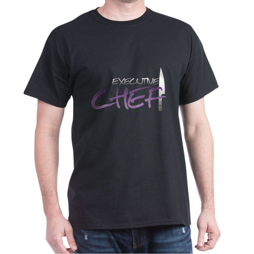 Purple Executive Chef Dark T-Shirt