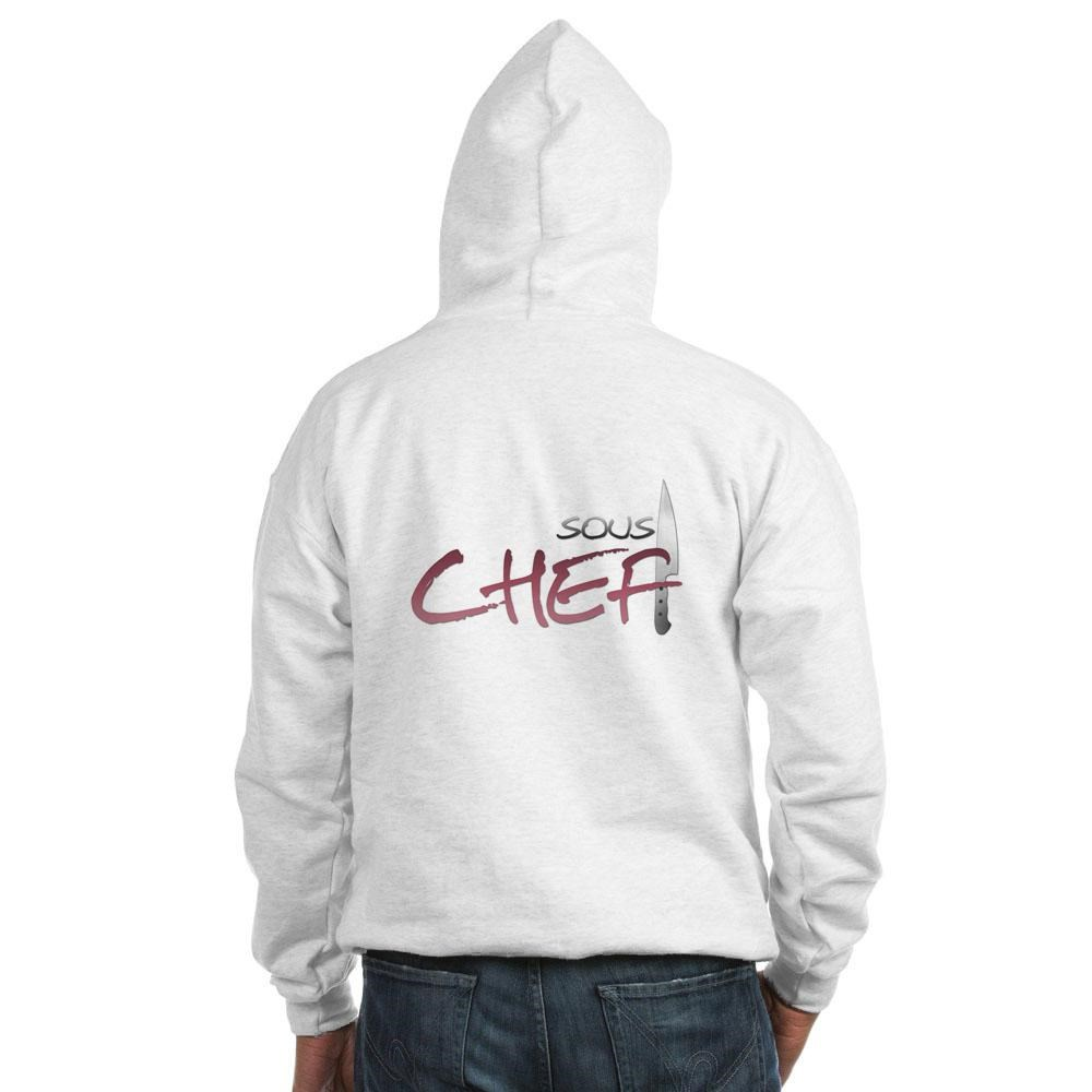Red Sous Chef Hooded Sweatshirt