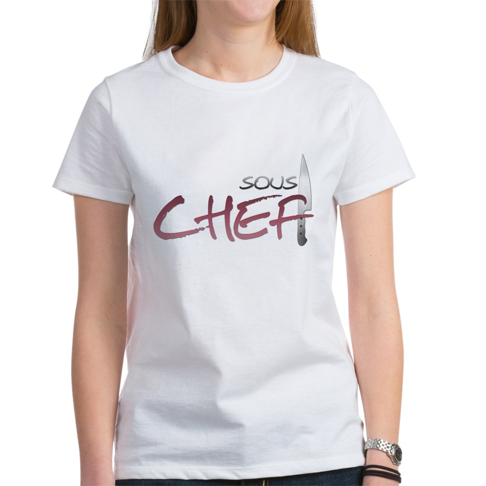 Red Sous Chef Women's T-Shirt