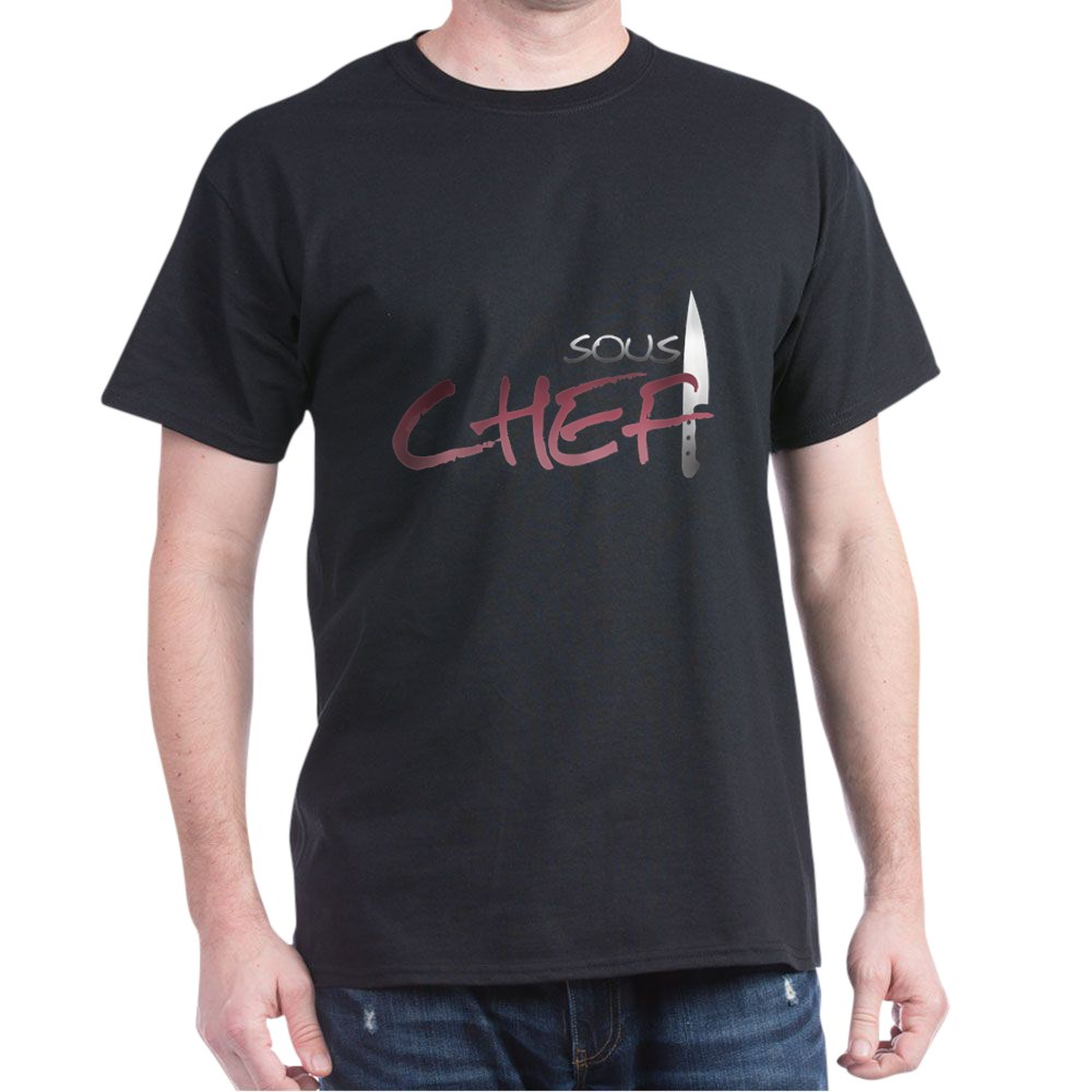 Red Sous Chef Dark T-Shirt
