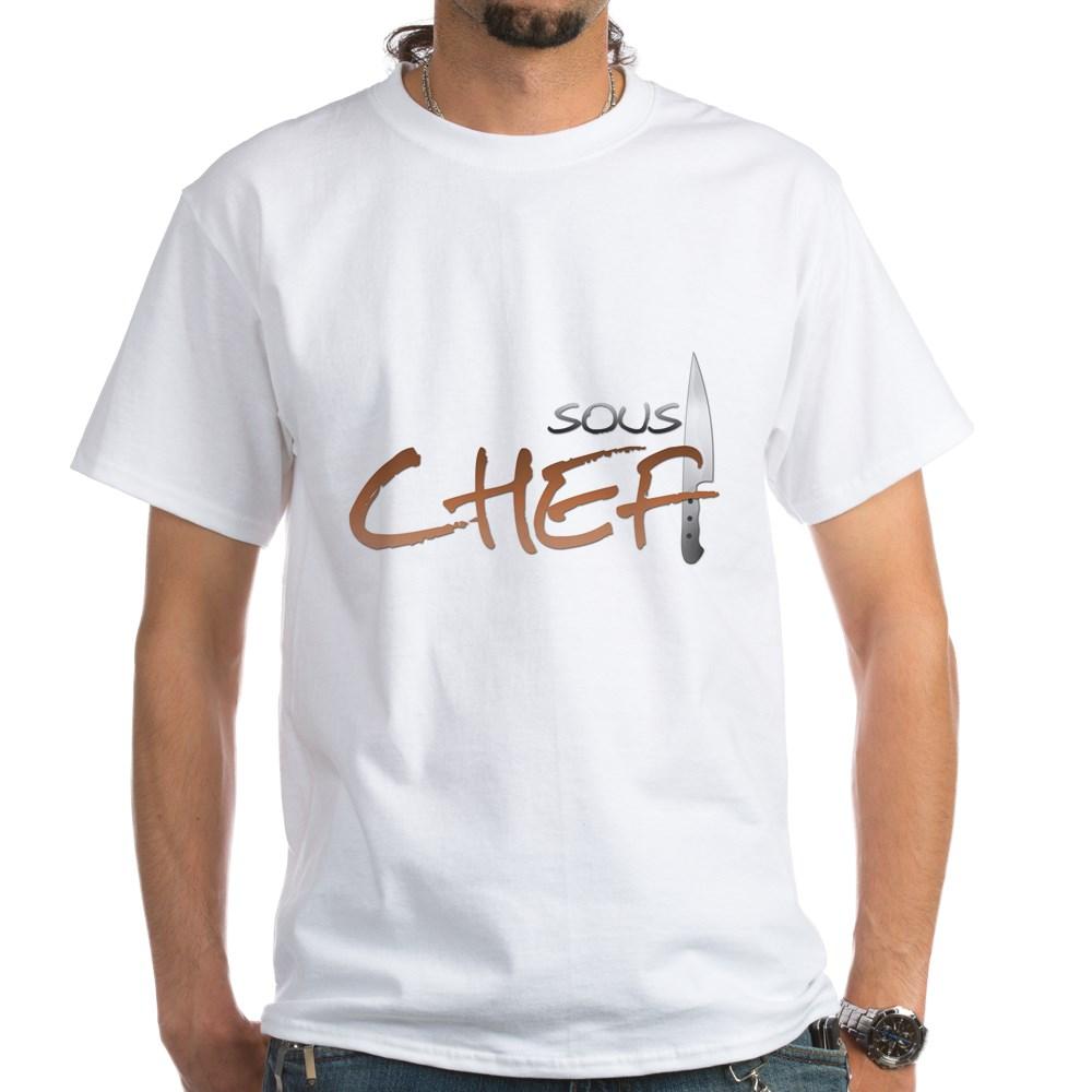 Orange Sous Chef White T-Shirt