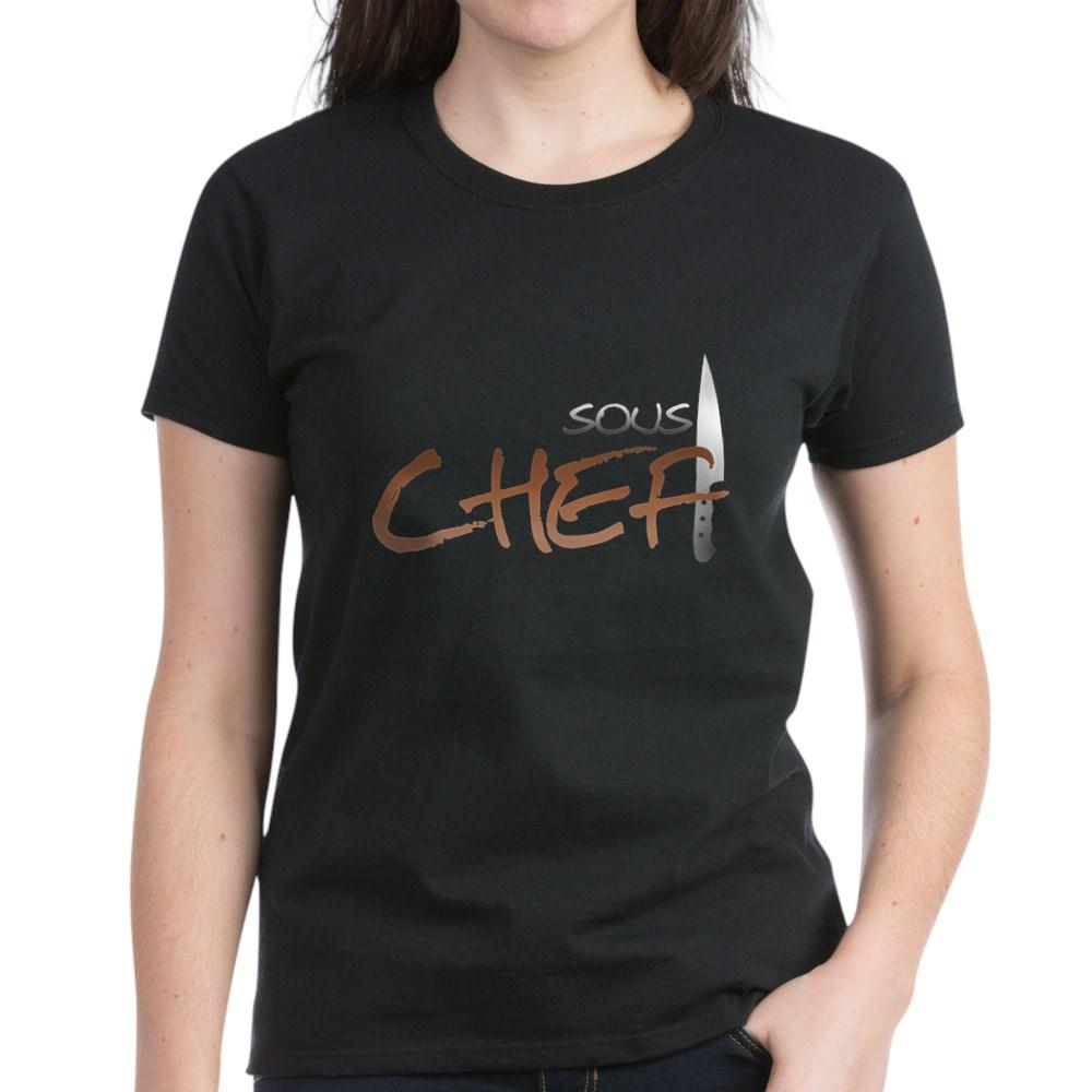 Orange Sous Chef Women's Dark T-Shirt