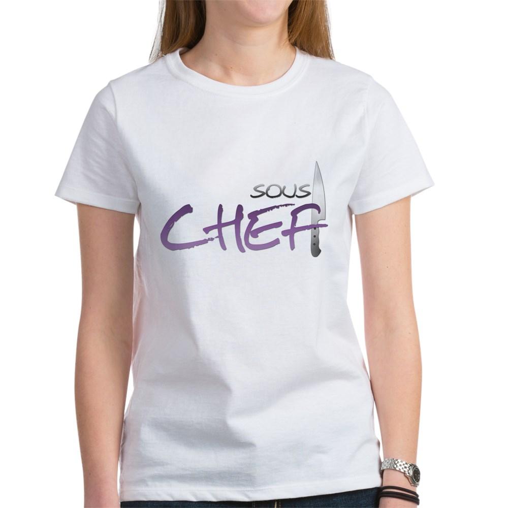 Purple Sous Chef Women's T-Shirt