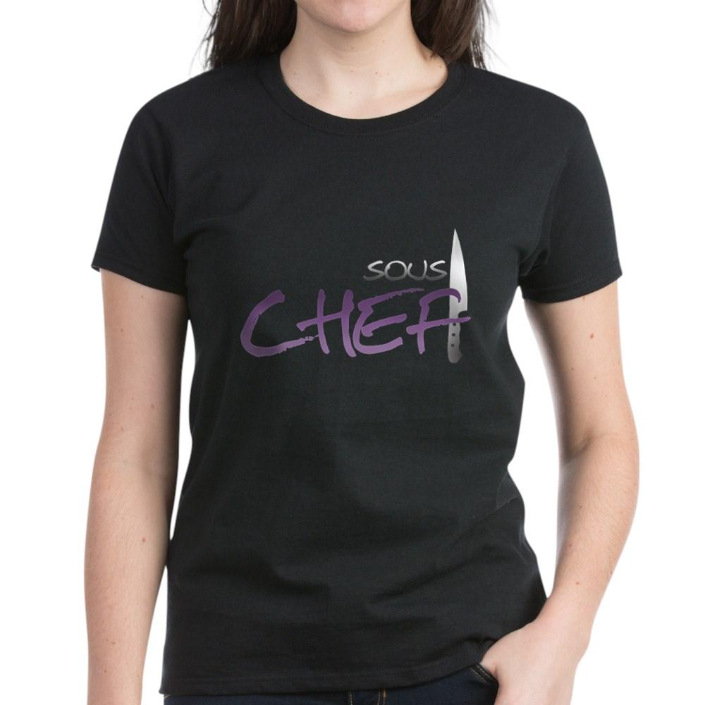 Purple Sous Chef Women's Dark T-Shirt