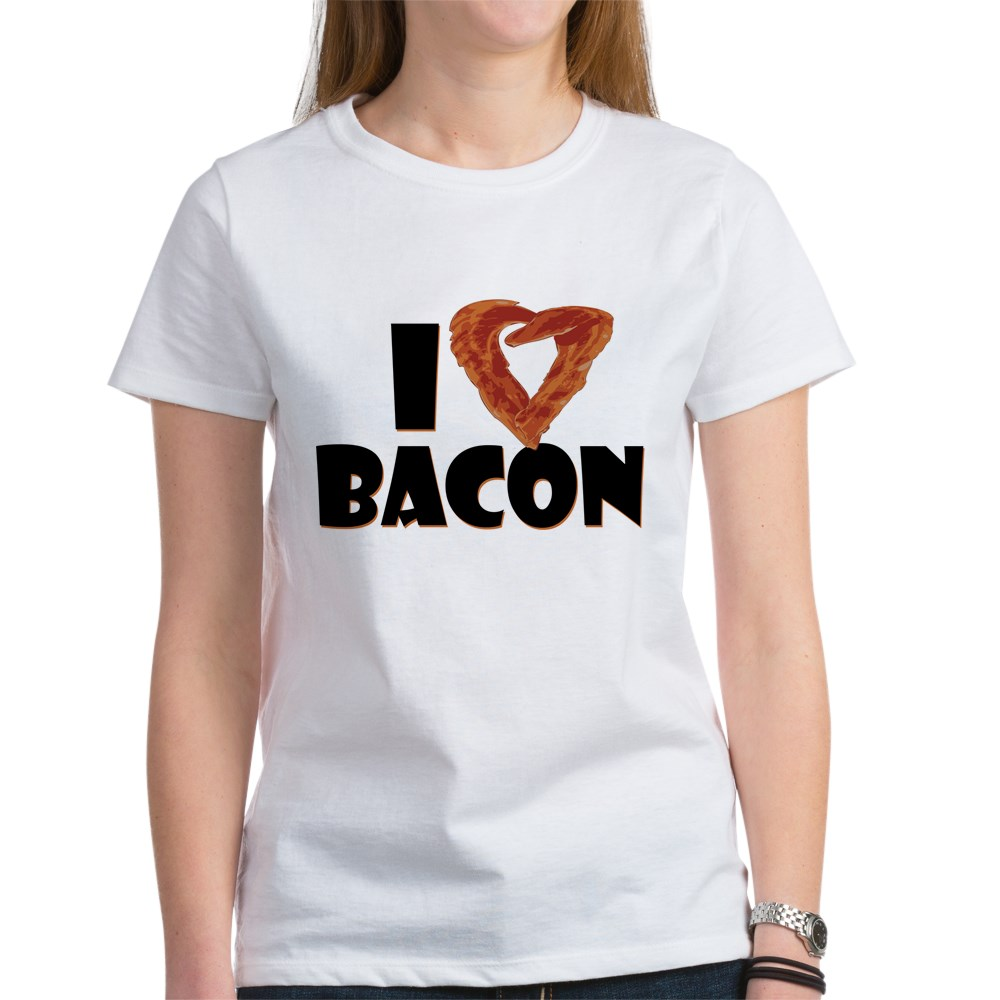 I Heart Bacon Women's T-Shirt