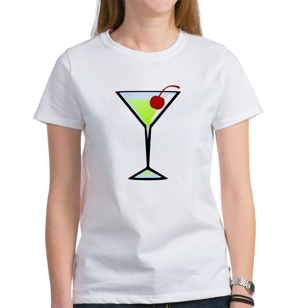 Green Apple Martini Women's T-Shirt