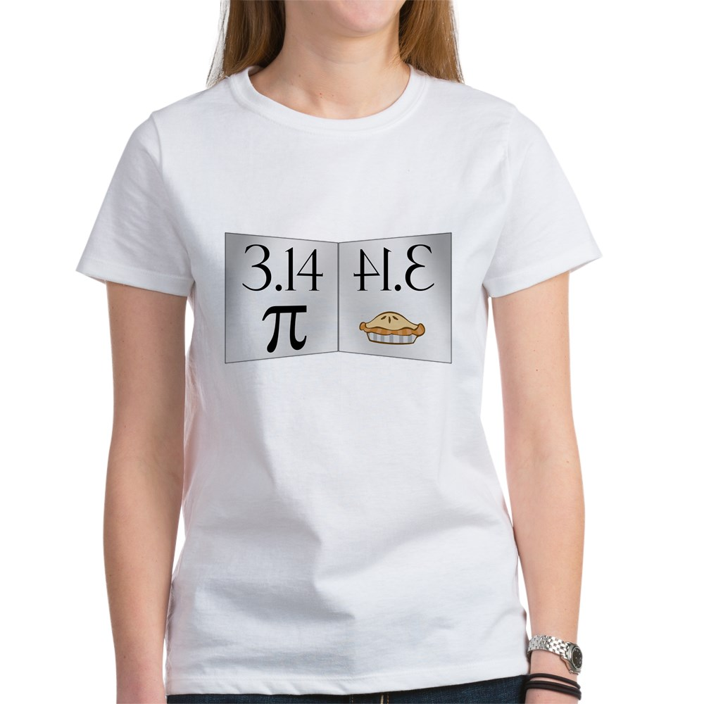 PI 3.14 Reflected as PIE Women's T-Shirt