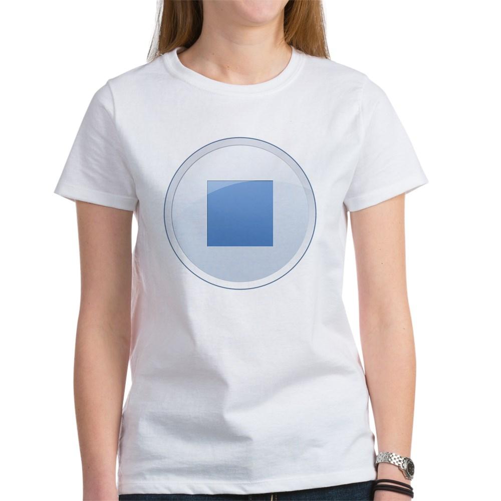 Stop Button Women's T-Shirt