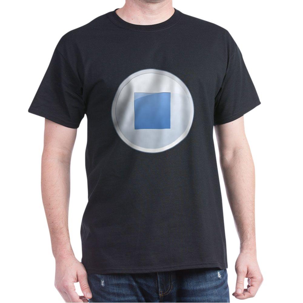 Stop Button Dark T-Shirt