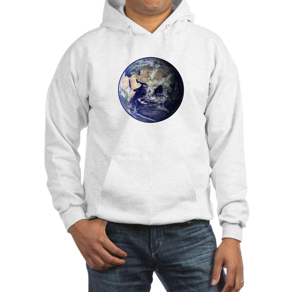 Eastern Earth from Space Hooded Sweatshirt