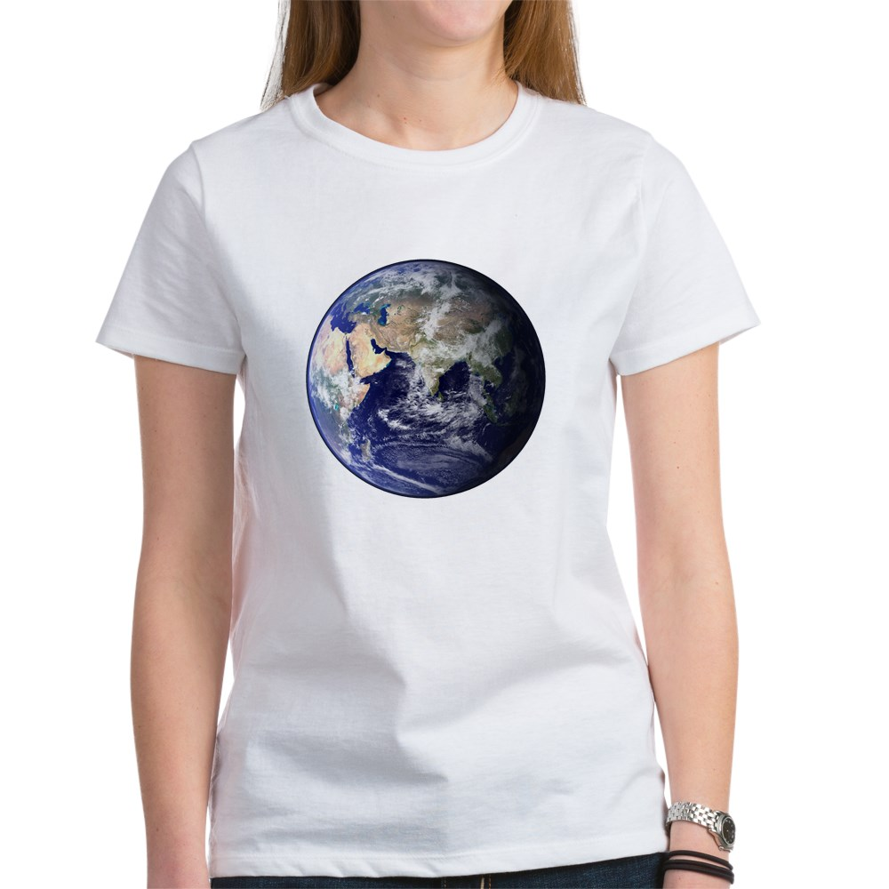 Eastern Earth from Space Women's T-Shirt