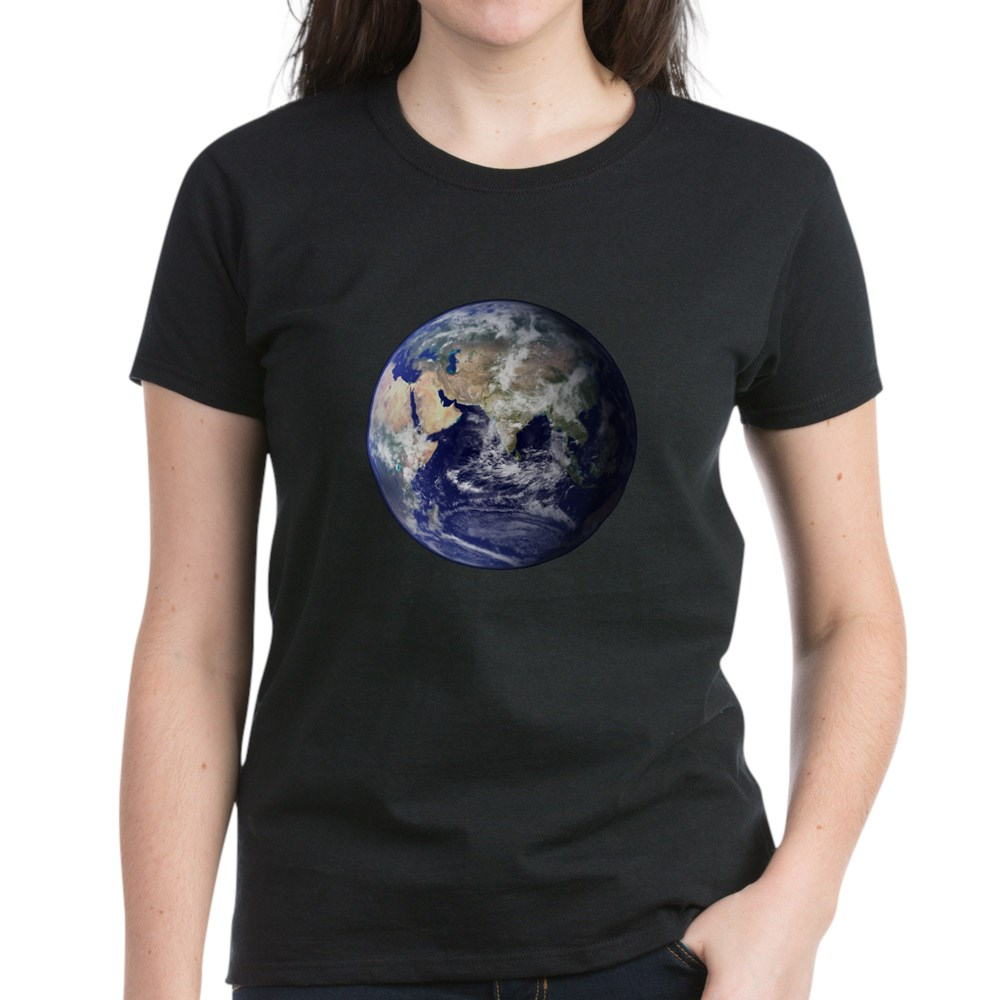 Eastern Earth from Space Women's Dark T-Shirt