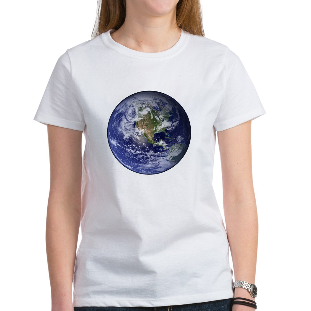 Western Earth from Space Women's T-Shirt