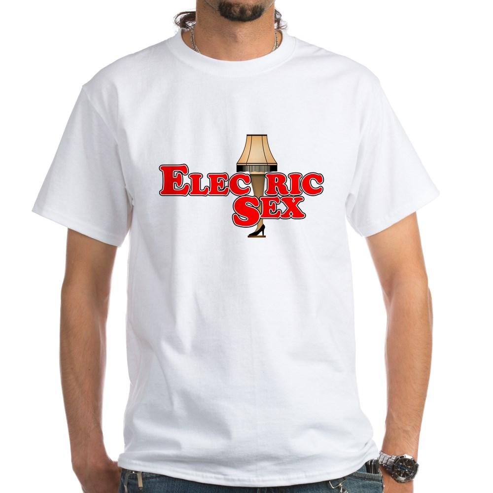 Electric Sex Leg Lamp White T-Shirt