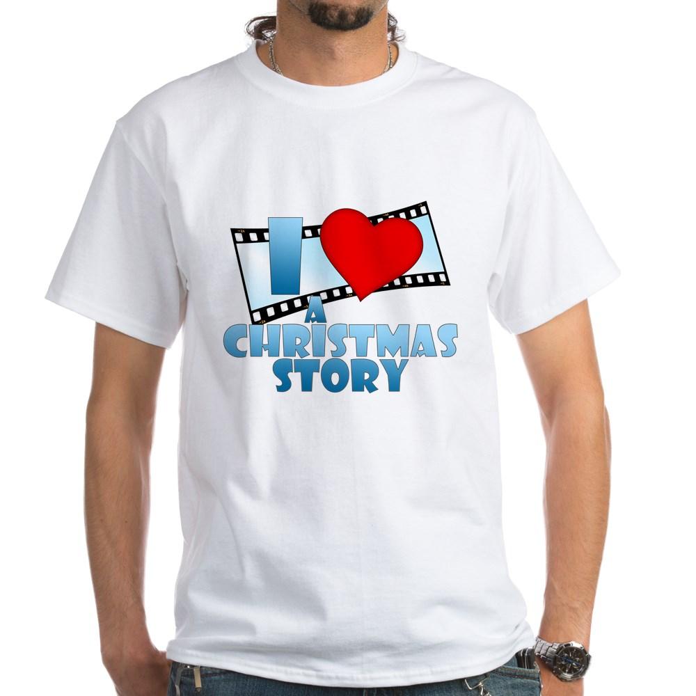 I Heart A Christmas Story White T-Shirt