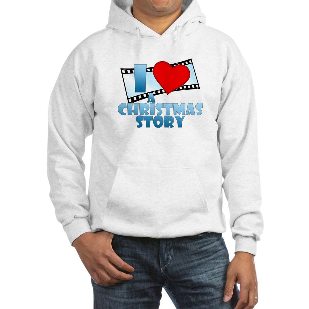 I Heart A Christmas Story Hooded Sweatshirt