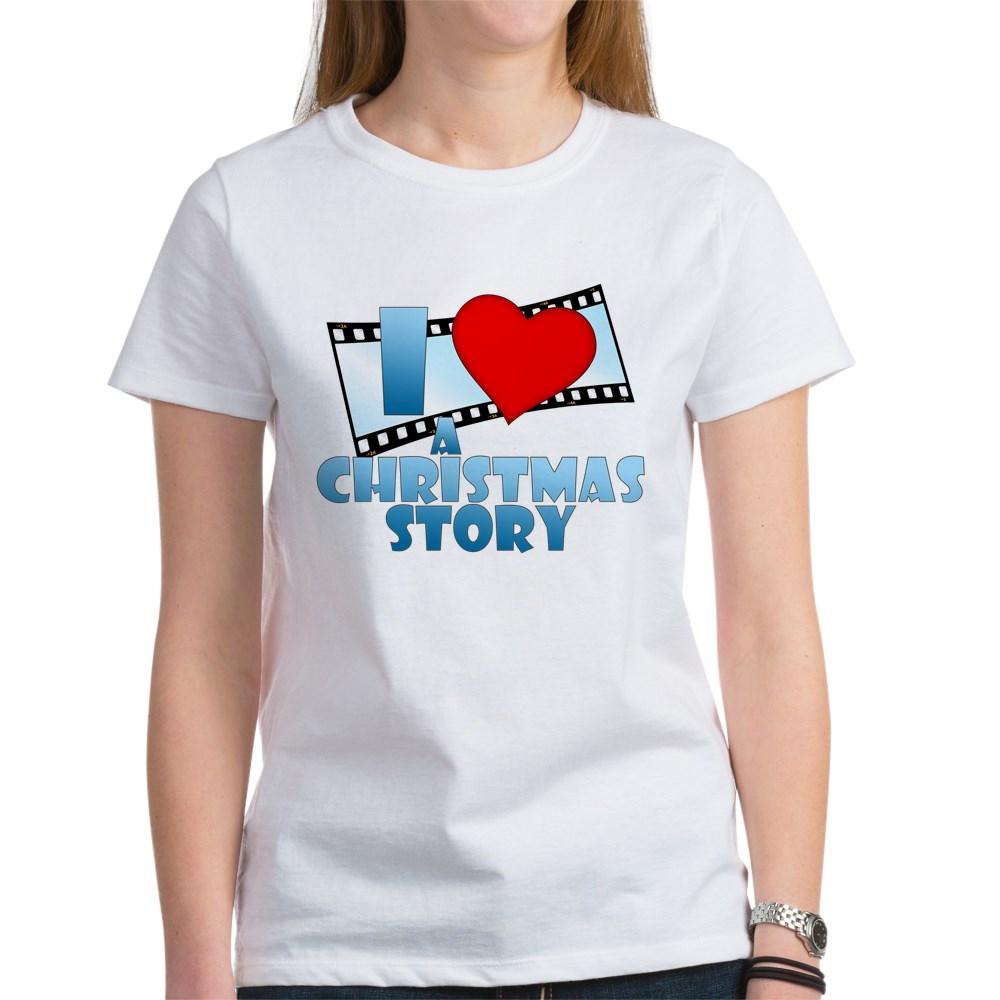 I Heart A Christmas Story Women's T-Shirt