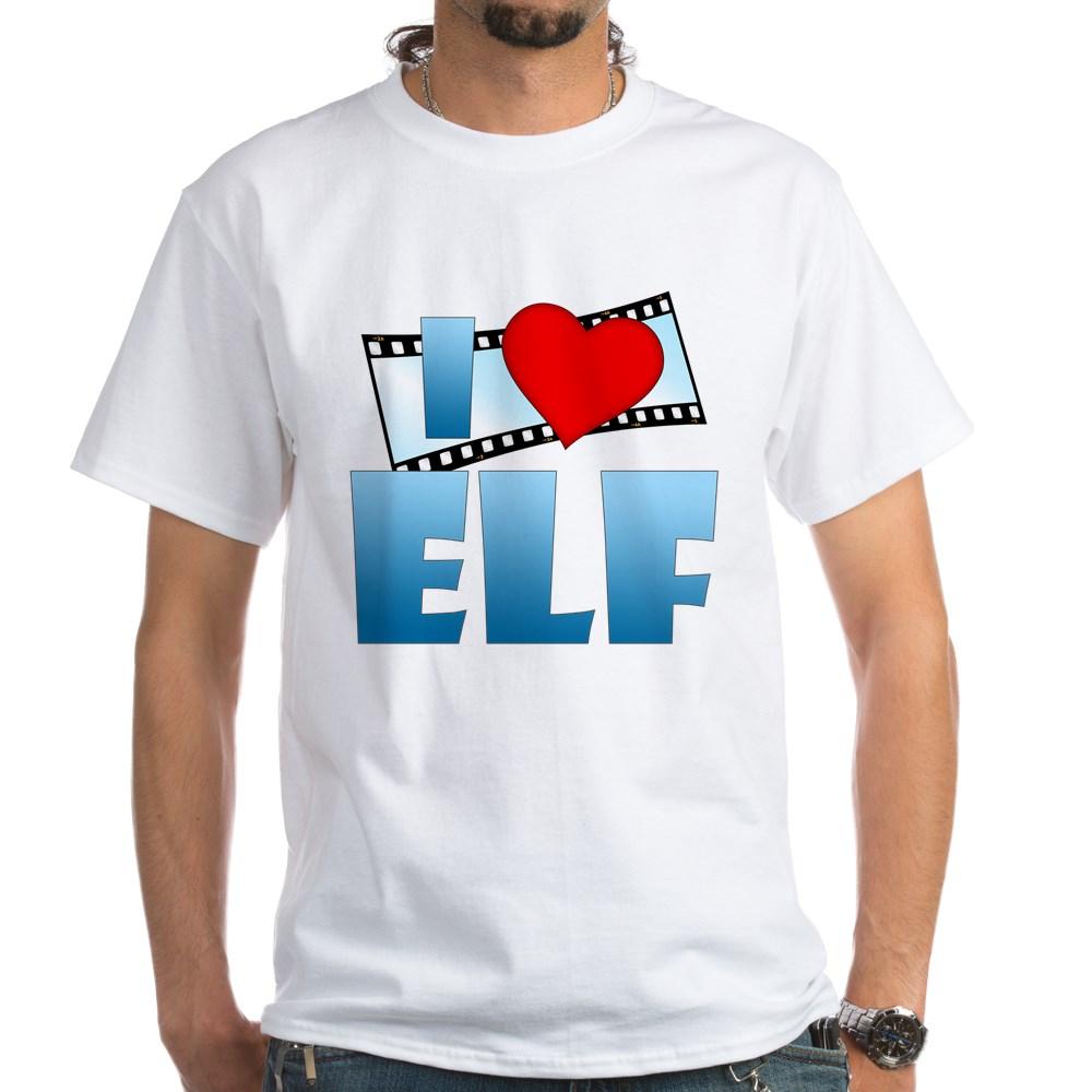 I Heart Elf White T-Shirt