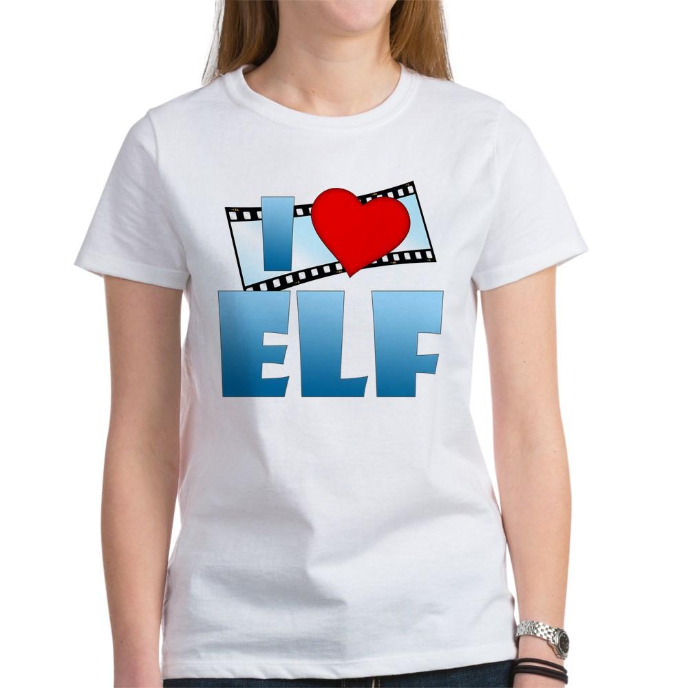 I Heart Elf Women's T-Shirt