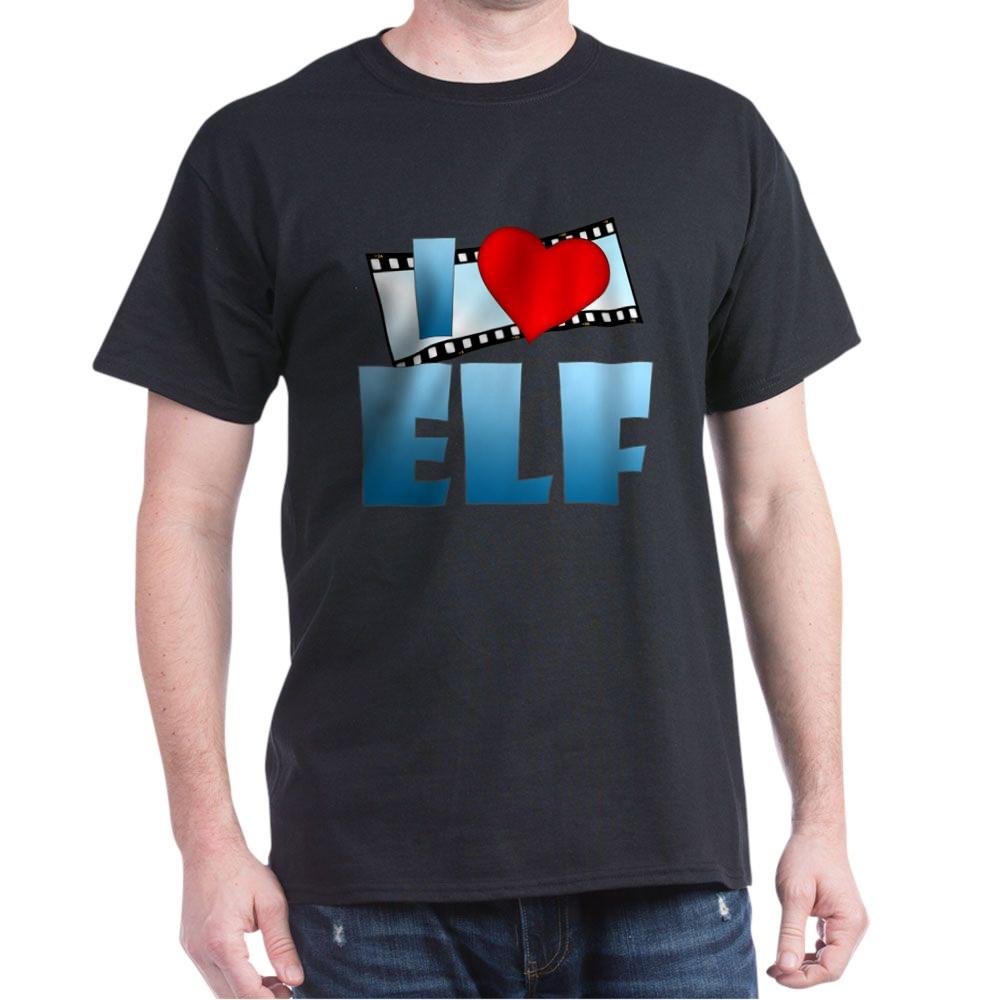 I Heart Elf Dark T-Shirt