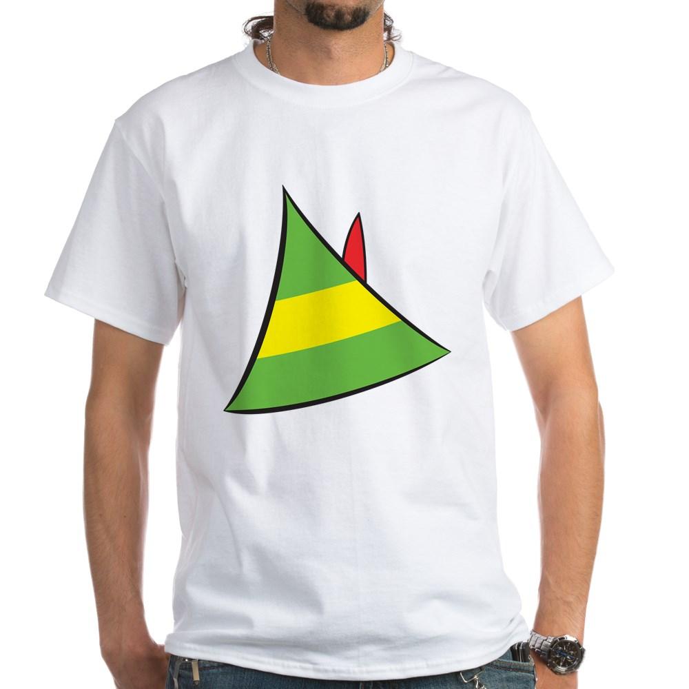 Buddy the Elf's Hat White T-Shirt