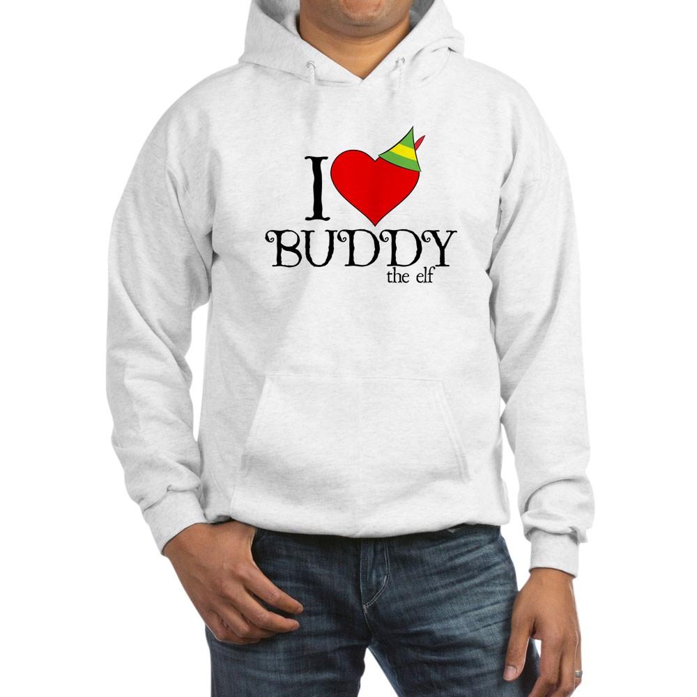 I Heart Buddy the Elf Hooded Sweatshirt
