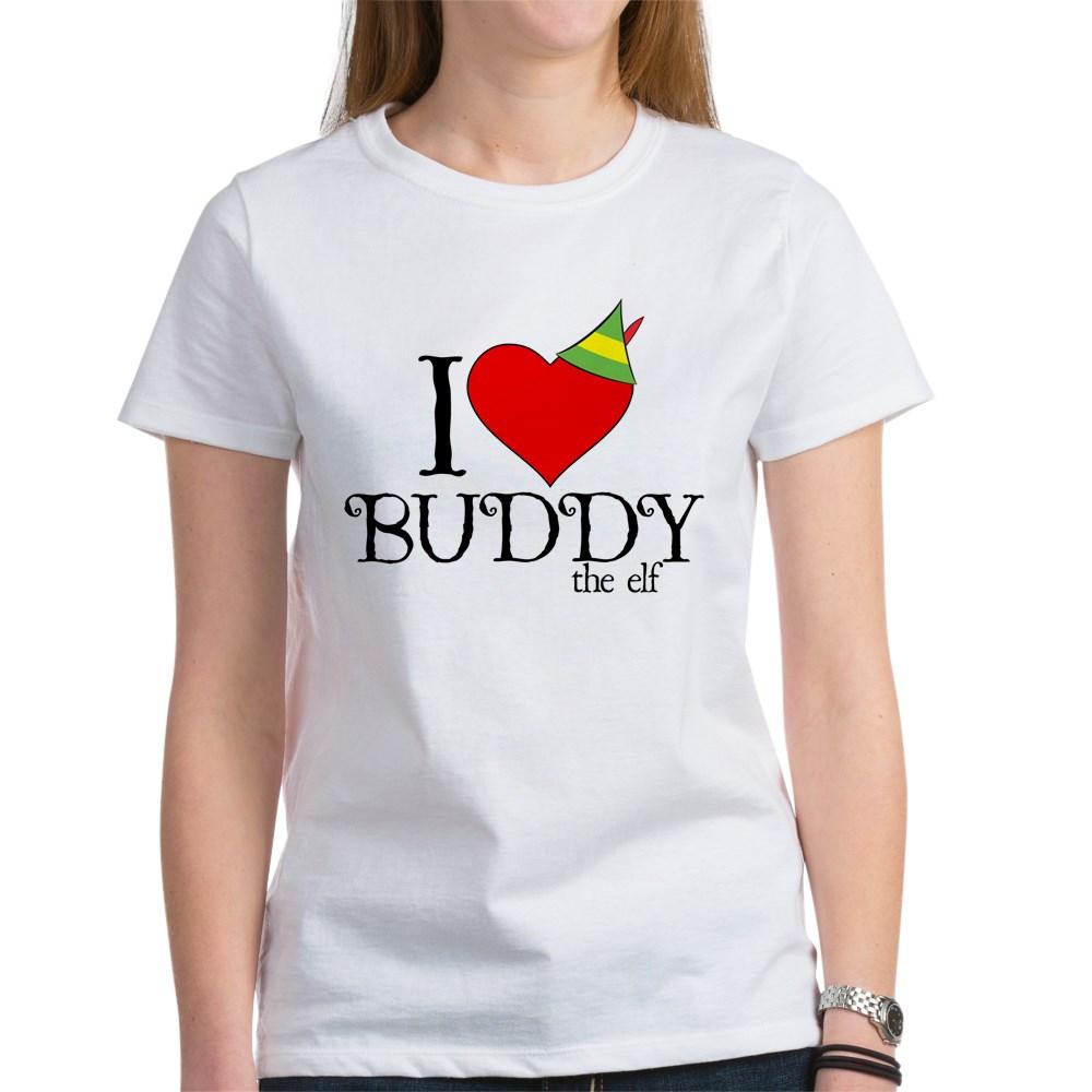 I Heart Buddy the Elf Women's T-Shirt