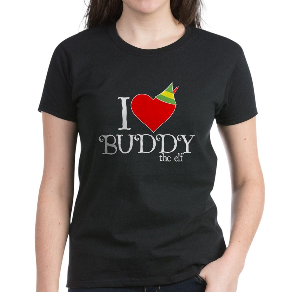I Heart Buddy the Elf Women's Dark T-Shirt