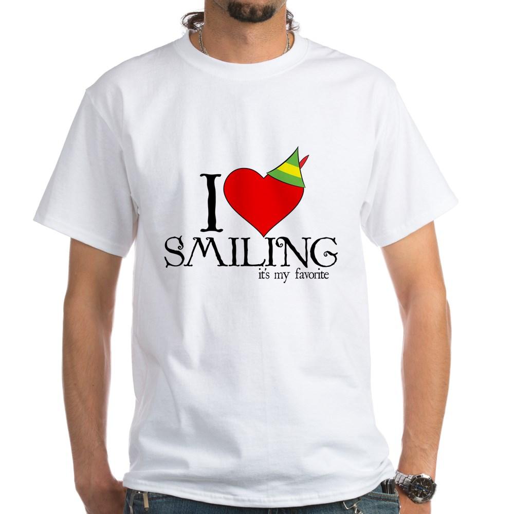 Elf - I Heart Smiling White T-Shirt