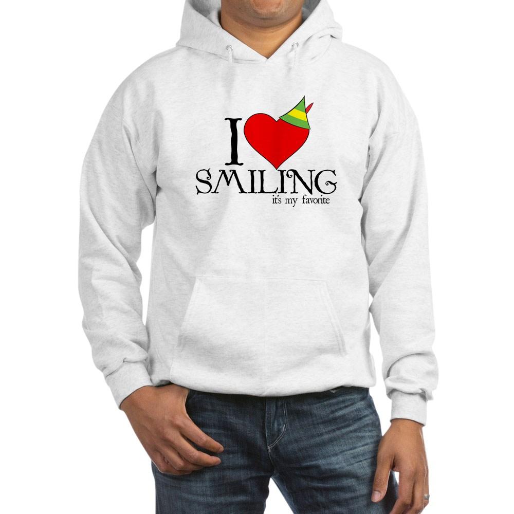 Elf - I Heart Smiling Hooded Sweatshirt